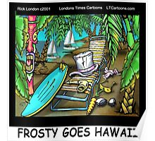 Frosty Goes Hawaii  Poster