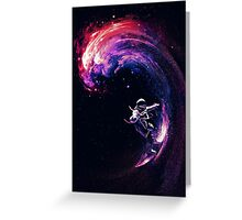 Space Surfing II Greeting Card