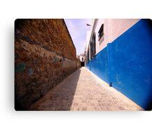 Blue Rue Canvas Print