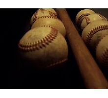 Vintage Baseball Photographic Print