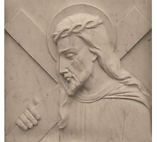 Jesus Carried The Cross For You Photographic Print