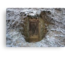 Icy cellar Canvas Print