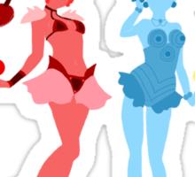 Amazoness Quartet Sticker