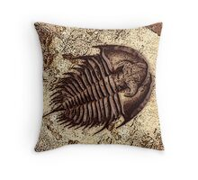 The Fossil Throw Pillow