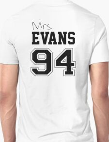 Mrs. Evans 94 Unisex T-Shirt