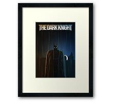 Dark Knight Framed Print