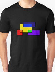 Rectangle Rainbow Colors Unisex T-Shirt