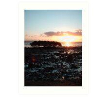 Hervey Sunset Art Print