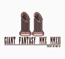 Giant (Final) Fantasy -- ON WHITE Kids Clothes