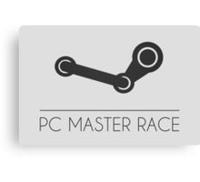PC MASTER RACE Canvas Print