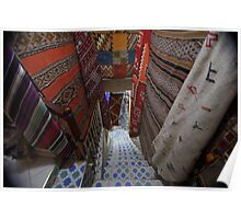 Carpet Stairwell Poster