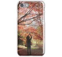 Photographing the fall color iPhone Case/Skin
