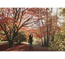 Photographing the fall color Photographic Print