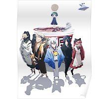 Gugure! Kokkuri-san Crew Poster