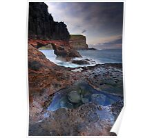 Rangers Rock Arch Poster