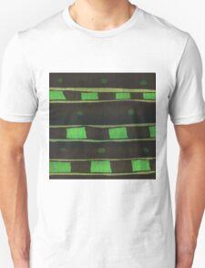 Green Rectangle Unisex T-Shirt