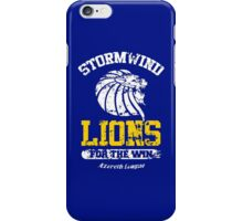 Lions For The Win!! iPhone Case/Skin