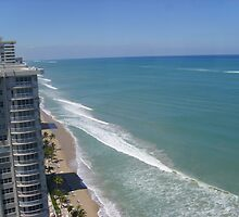 Fort Lauderdale Beach Panorama by spokod23