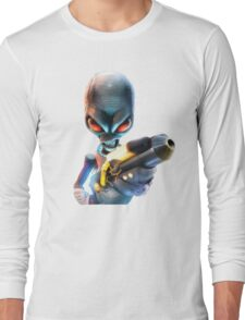 Destroy All Humans: Disintegrator Ray Long Sleeve T-Shirt