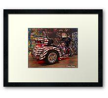 American Graffiti Framed Print