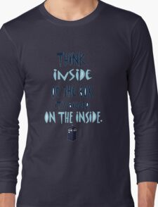 Tardis T-Shirt Long Sleeve T-Shirt