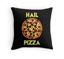 Hail Pizza Throw Pillow