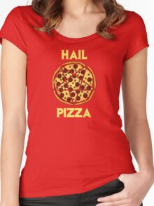 Hail Pizza Women's Fitted Scoop T-Shirt