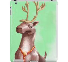 Sometimes Rudolph gets WAY to much attention. iPad Case/Skin