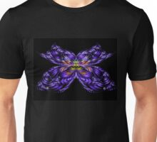 Purple Butterfly Unisex T-Shirt