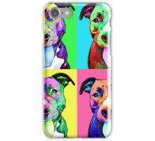 Pit Bull Pop Art iPhone Case/Skin
