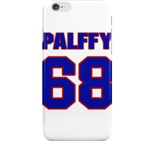 National Hockey player Ziggy Palffy jersey 68 iPhone Case/Skin
