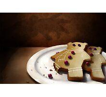 Gingerbear Cookies Photographic Print