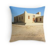 Traditional Building Throw Pillow