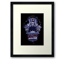 The Haunted Poet Framed Print