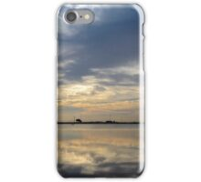 Sunrise over Flood Waters iPhone Case/Skin