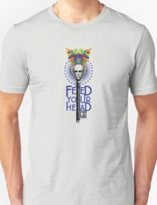 Psychedelic Skull & Butterfly T-Shirt