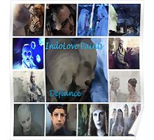 IndoLove Paints Defiance Poster