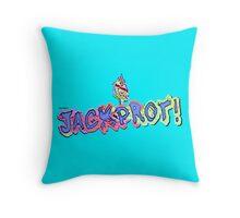 Jackprot! Dr. Steve Brule Casino Design by SmashBam Throw Pillow