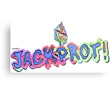 Jackprot! Dr. Steve Brule Casino Design by SmashBam Metal Print