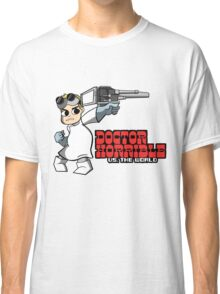 Dr. Horrible vs. The World Classic T-Shirt