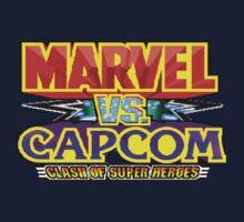 Marvel vs Capcom (Arcade) Title Screen Kids Clothes