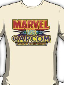 Marvel vs Capcom (Arcade) Title Screen T-Shirt