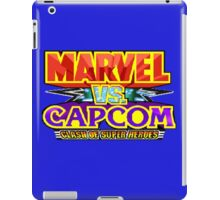 Marvel vs Capcom (Arcade) Title Screen iPad Case/Skin