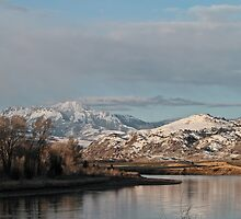 Yellowstone River Morning Mood #7 by Ken McElroy