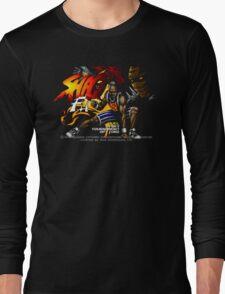 Shaq Fu (Genesis) Title Screen Long Sleeve T-Shirt
