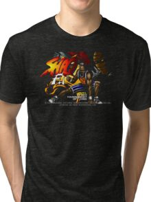 Shaq Fu (Genesis) Title Screen Tri-blend T-Shirt