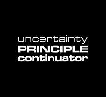 Uncertainty Principle Continuator by Marc de Vaux