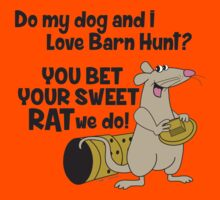 Do my dog and I love Barn Hunt? by littleredrosie