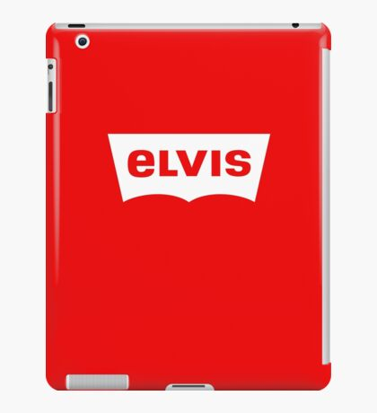 ELVIS - Levis Style Logo iPad Case/Skin