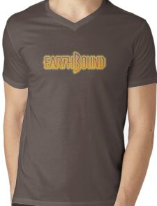 Earthbound (Snes) Title Screen Mens V-Neck T-Shirt